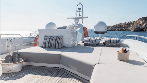 ELEVEN I charter motor yachts Athens Greece   Valef Yachts (17) min -  Valef Yachts Chartering - 1595
