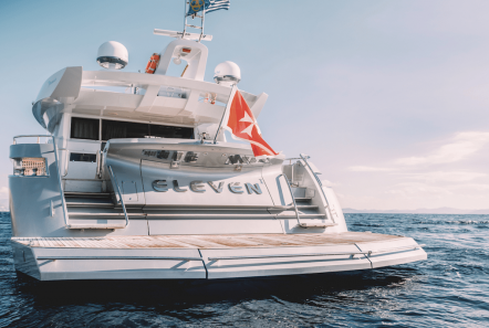 ELEVEN I charter motor yachts Athens Greece   Valef Yachts (20) min -  Valef Yachts Chartering - 1592