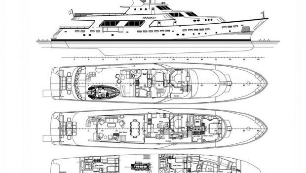 PARVATI LAYOUT -  Valef Yachts Chartering - 1666