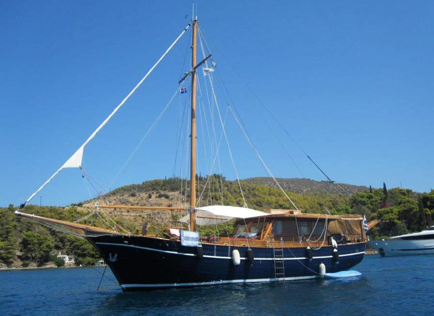 aegeas motor sailer exteriors (5) -  Valef Yachts Chartering - 1912
