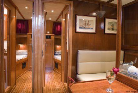 aegeas motor sailer interior (1) -  Valef Yachts Chartering - 1911