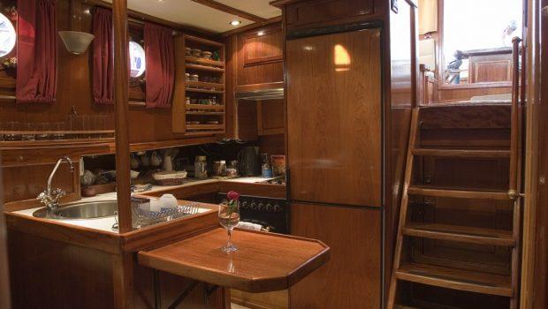 aegeas motor sailer interior (3) -  Valef Yachts Chartering - 1910