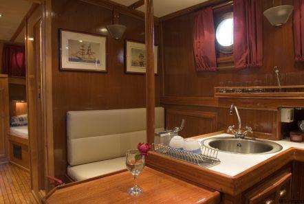 aegeas motor sailer interior (4) -  Valef Yachts Chartering - 1909