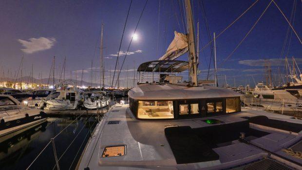 alyssa catamaran lagoon aft view (2) -  Valef Yachts Chartering - 2323