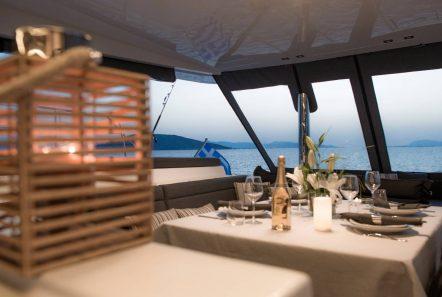 alyssa catamaran lagoon dinner -  Valef Yachts Chartering - 2330