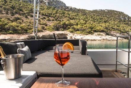 alyssa catamaran lagoon ext spaces (3) -  Valef Yachts Chartering - 2345