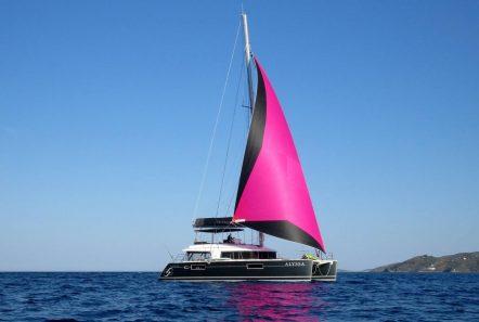 alyssa catamaran lagoon exterior (11) -  Valef Yachts Chartering - 2358
