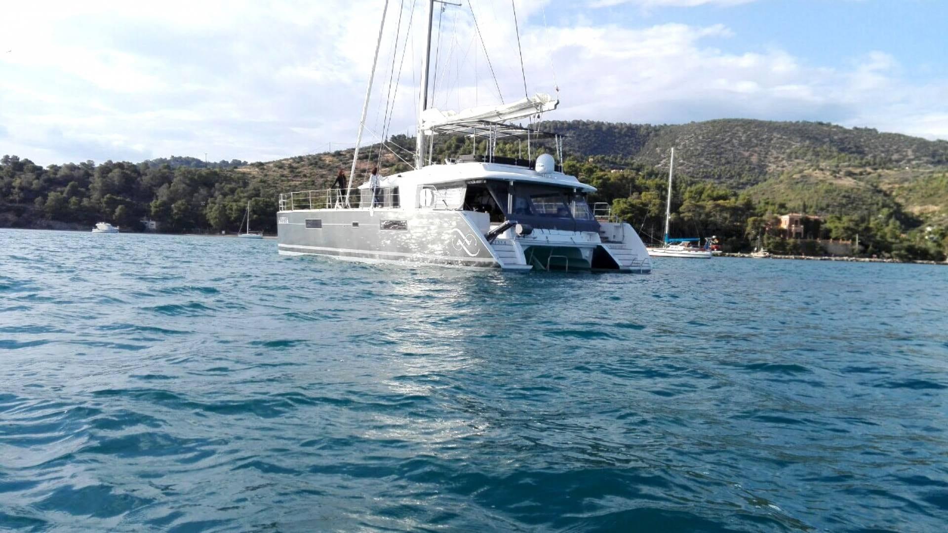 alyssa catamaran lagoon exterior (3) -  Valef Yachts Chartering - 2366
