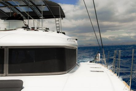alyssa catamaran lagoon fore -  Valef Yachts Chartering - 2341