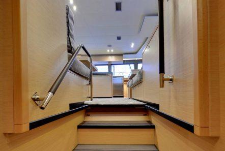alyssa catamaran lagoon stairs -  Valef Yachts Chartering - 2334
