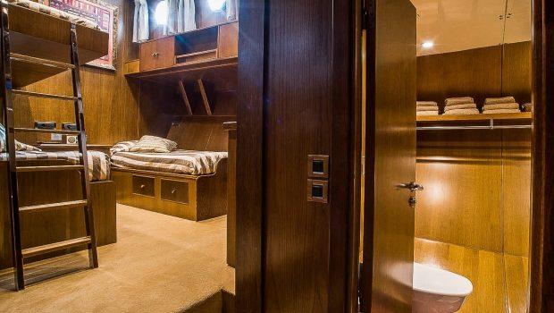 arktos motor sailer cabins (9) min -  Valef Yachts Chartering - 2288