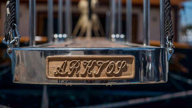 arktos motor sailer detail plank min -  Valef Yachts Chartering - 2272