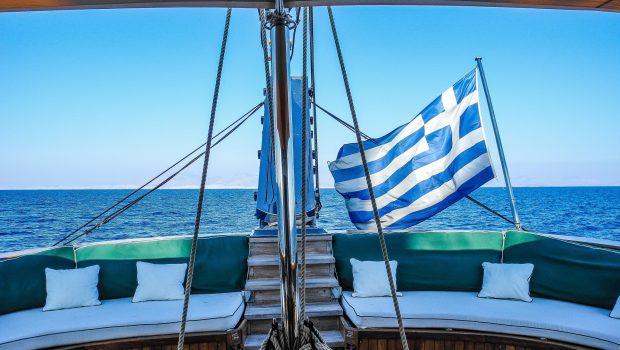 arktos motor sailer flag min -  Valef Yachts Chartering - 2307