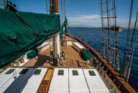 arktos motor sailer lounging (2) min -  Valef Yachts Chartering - 2246