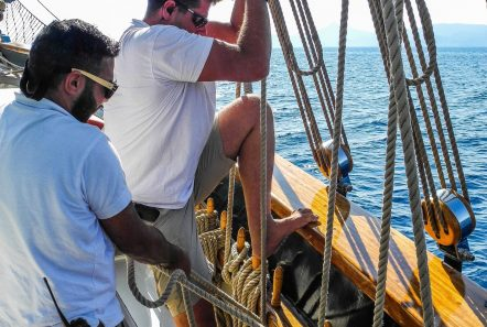 arktos motor sailer sailing (1) min -  Valef Yachts Chartering - 2242
