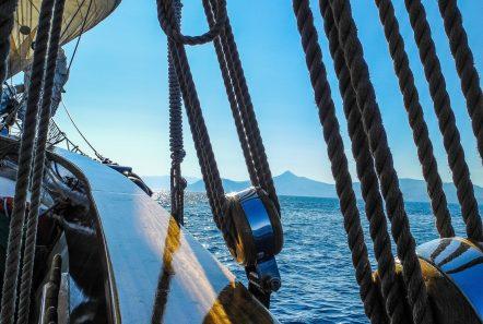 arktos motor sailer sailing (2) min -  Valef Yachts Chartering - 2241