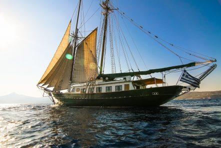arktos motor sailer sailing (21) min -  Valef Yachts Chartering - 2231