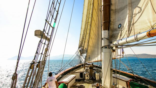 arktos motor sailer sailing (6) min -  Valef Yachts Chartering - 2237