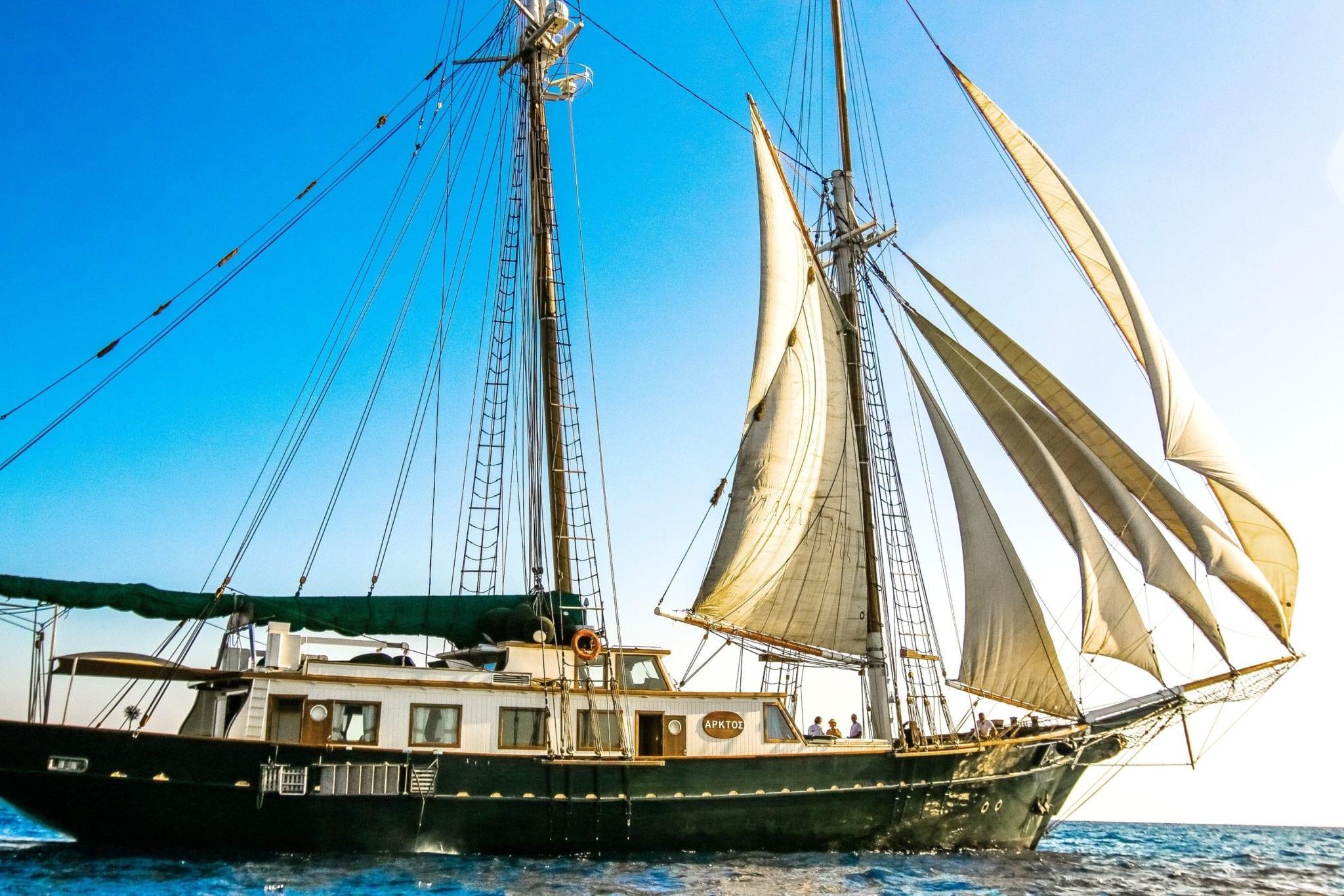 arktos motor sailer sailing (8) min -  Valef Yachts Chartering - 2235