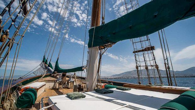 arktos motor sailer yacht fore min -  Valef Yachts Chartering - 2232