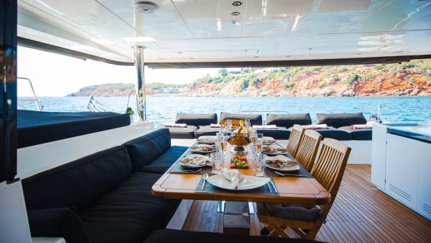 carpe diem catamaran aft deck1 (2) min -  Valef Yachts Chartering - 2065