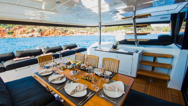 carpe diem catamaran aft deck1 (3) min -  Valef Yachts Chartering - 2064