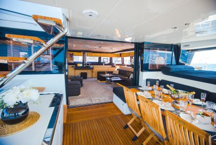 carpe diem catamaran aft deck1 (5) min -  Valef Yachts Chartering - 2063