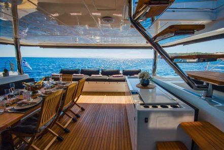 carpe diem catamaran aft deck1 (6) min -  Valef Yachts Chartering - 2062