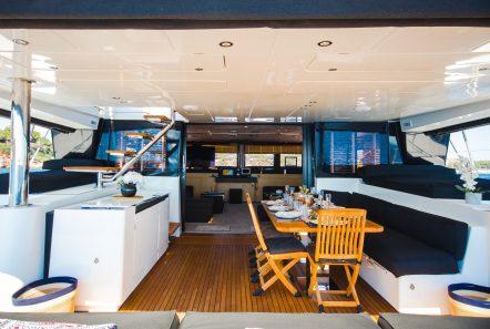carpe diem catamaran aft deck1 (9) min -  Valef Yachts Chartering - 2059