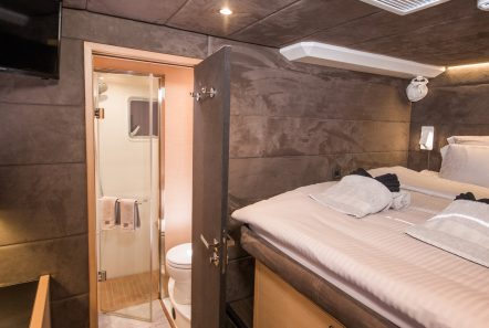 carpe diem catamaran cabins (1) min -  Valef Yachts Chartering - 2058