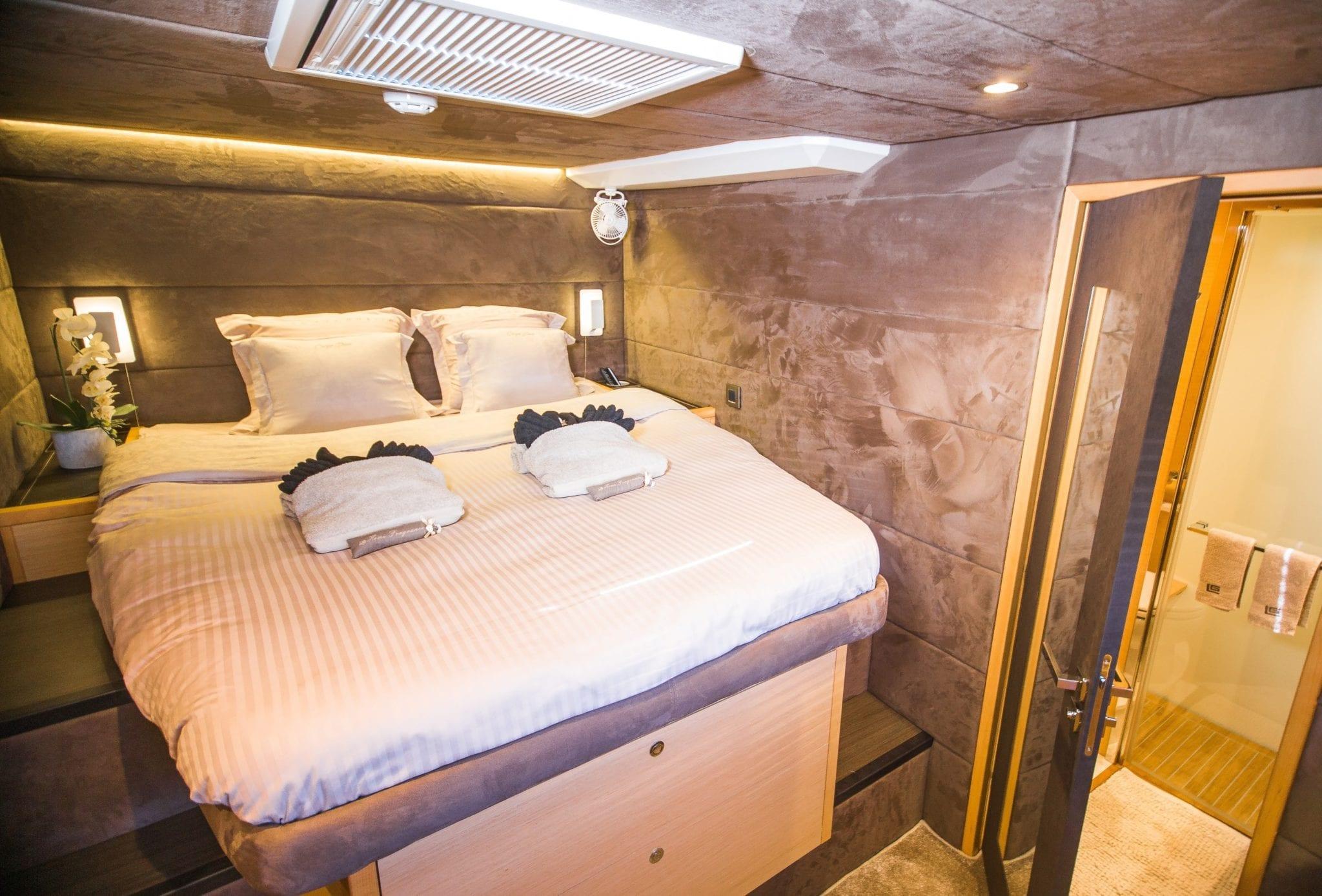 carpe diem catamaran cabins (4) min -  Valef Yachts Chartering - 2055