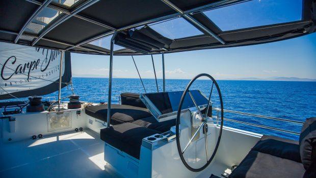 carpe diem catamaran deck (11) min -  Valef Yachts Chartering - 2042