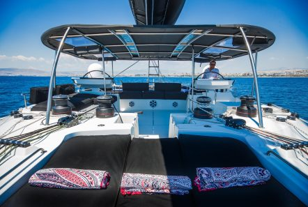 carpe diem catamaran deck (7) min -  Valef Yachts Chartering - 2046
