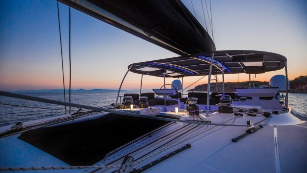 carpe diem catamaran evening (2) min -  Valef Yachts Chartering - 2039