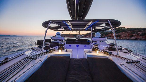 carpe diem catamaran evening (3) min -  Valef Yachts Chartering - 2038