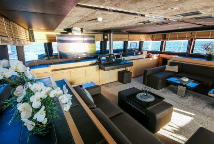 carpe diem catamaran salon (6) min -  Valef Yachts Chartering - 2026