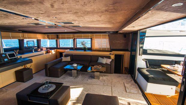 carpe diem catamaran salon (7) min -  Valef Yachts Chartering - 2025