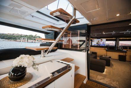carpe diem catamaran salon1 (10) min -  Valef Yachts Chartering - 2016