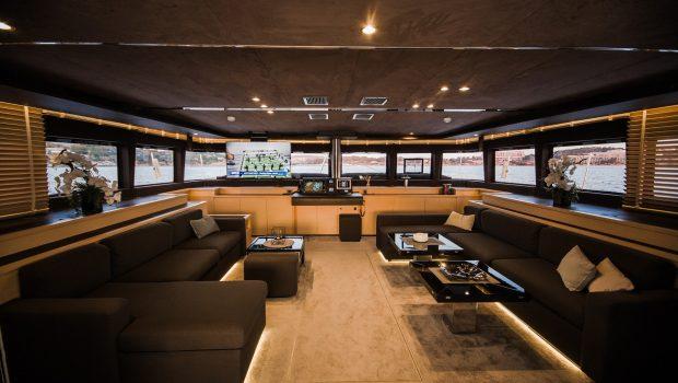 carpe diem catamaran salon1 (8) min -  Valef Yachts Chartering - 2018