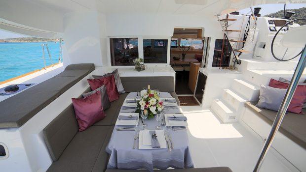 daniella ii catamaran exterior spaces (18) -  Valef Yachts Chartering - 2174