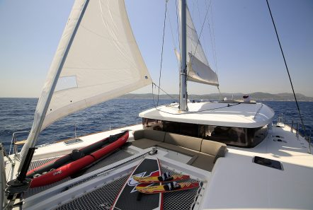 daniella ii catamaran exterior spaces (4) -  Valef Yachts Chartering - 2188