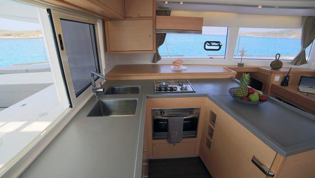 daniella ii catamaran galley -  Valef Yachts Chartering - 2170