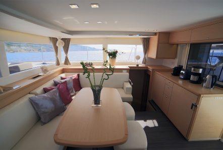 daniella ii catamaran salonjpg (1) -  Valef Yachts Chartering - 2171
