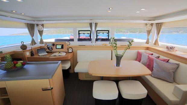 daniella ii catamaran salonjpg (2) -  Valef Yachts Chartering - 2172