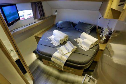 highjinks catamaran cabin -  Valef Yachts Chartering - 2435