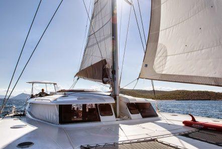highjinks catamaran deck (1) -  Valef Yachts Chartering - 2430