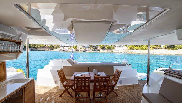 highjinks catamaran deck (3) -  Valef Yachts Chartering - 2431