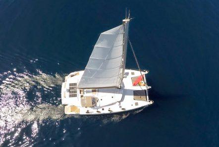 highjinks catamaran exterior (10) -  Valef Yachts Chartering - 2420