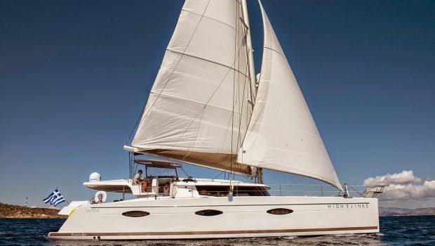 highjinks catamaran exterior (4) -  Valef Yachts Chartering - 2426