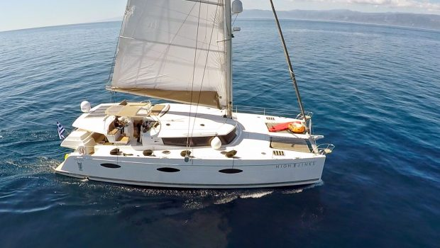 highjinks catamaran exterior (7) -  Valef Yachts Chartering - 2423